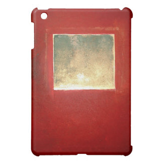 Gold Green on Brown Red - Square - Philip Bowman iPad Mini Case