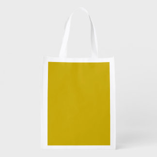 Gold Grocery Bag