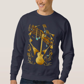 Gold Guitar Party Shirt
