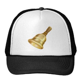Gold hand bell trucker hat