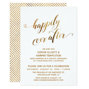 Happily Ever After Wedding Invitations | Zazzle  Happily Ever Af...