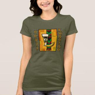 Gold Happy Kwanzaa T-Shirt