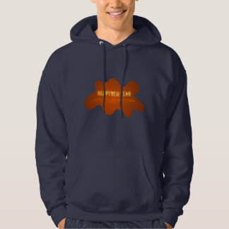 Gold Happy New Year Hoodie