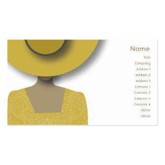 Gold Hat - Business Double-Sided Standard Business Cards (Pack Of 100)