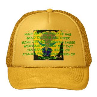 Gold_Hawk_by_eagle_of_shadows, Gol... - Customized Trucker Hat