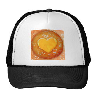 Gold Heart Trucker Hat