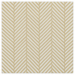 Gold Herringbone - Tamera Fabric
