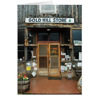 Gold Hill, Colorado, General Store Card