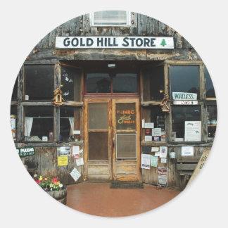 Gold Hill, Colorado, General Store Classic Round Sticker