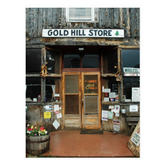 Gold Hill, Colorado, General Store Postcard
