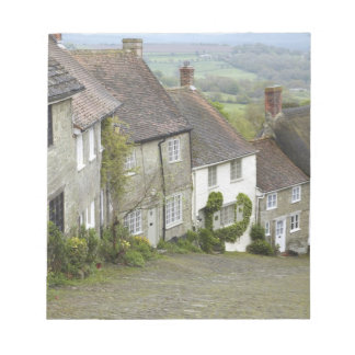 Gold Hill, Shaftesbury, Dorset, England, United Note Pad