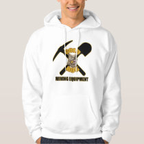 Gold Hog pull over hoodie