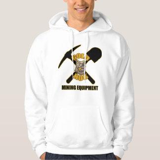 Gold Hog pull over hoodie