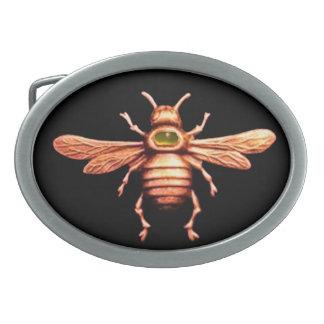 GOLD HONEY BEE BELT BUCKLE