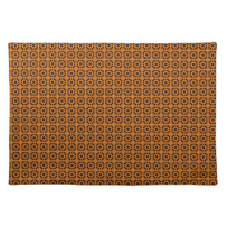 Gold Honeycomb Cloth Placemat