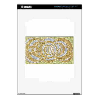 gold hoops decals for iPad 3