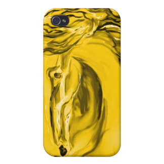 Gold Horse Case iPhone 4/4S Cases
