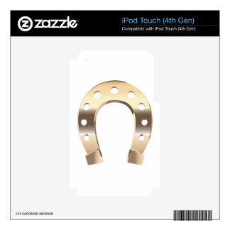 Gold horseshoe skin for iPod touch 4G