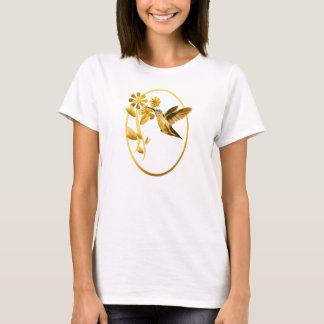 Gold Hummingbird framed T-Shirt