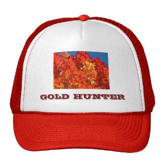 GOLD HUNTER hats Red Orange Yellow Leaves