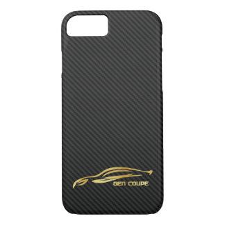 Gold Hyundai Genesis COUPE Logo iPhone 8/7 Case