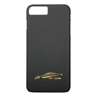 Gold Hyundai Genesis COUPE Logo iPhone 8 Plus/7 Plus Case