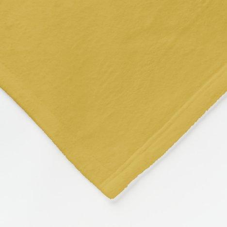 Gold II Fleece Blanket