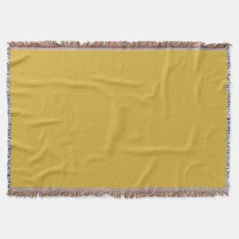 Gold II Throw Blanket