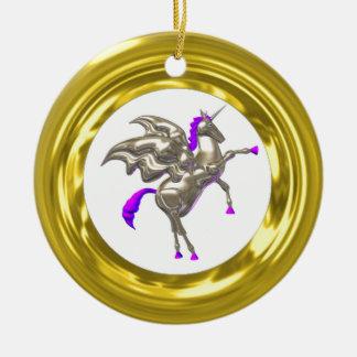 Gold Illusion Ornament Add photo border