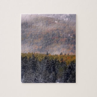 Gold in the Fog Jigsaw Puzzle