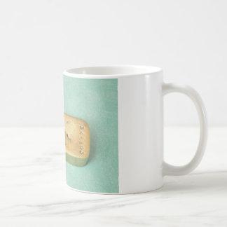 gold ingot coffee mug
