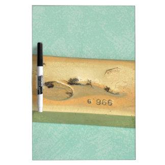 gold ingot Dry-Erase board