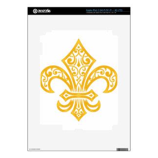 GOLD iPad 3 DECAL