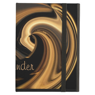 Gold Island Wave Powis iPad Case *Personalize*