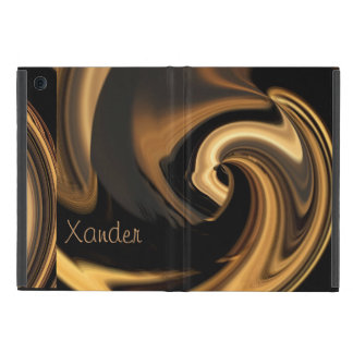 Gold Island Wave Powis iPad MINI Case *Personalize