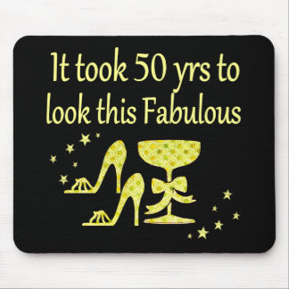 GOLD IT TOOK 50 YRS TO LOOK THIS FABULOUS MOUSE PAD