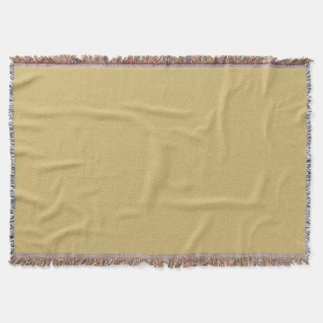 Gold IV Throw Blanket