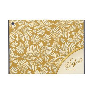 Gold Ivory Monogram Folio iPad Mini iPad Mini Cover