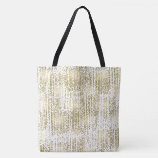 Gold Jewel Bokeh Abstract Tote Bag