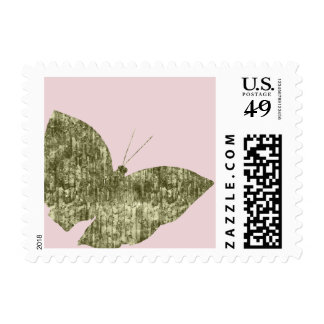 Gold Jewel Butterfly Stamp