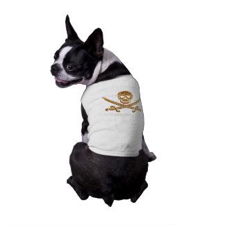 Gold Jolly Roger T-Shirt