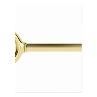Gold key postcard