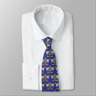 Gold King Neck Tie