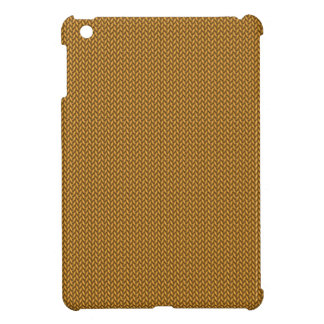 Gold Knitted Texture iPad Mini Cases