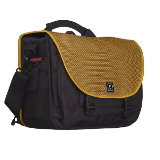 Gold Knitted Texture Commuter Bags