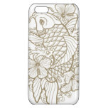 Gold Koi tattoo iPhone 5C Cover