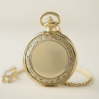 Gold LA Tantra Pocket Watch