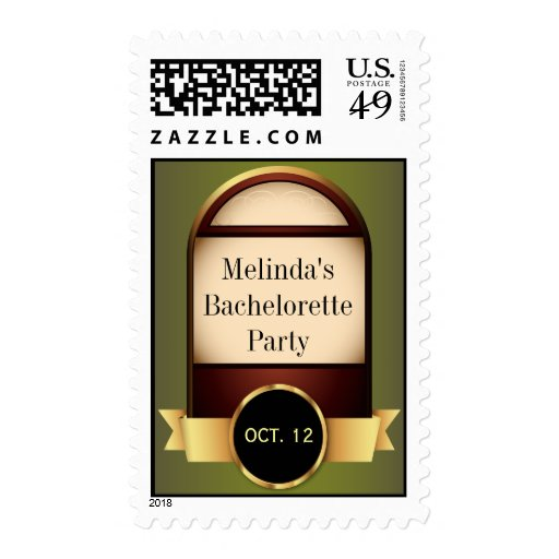 Gold Label Party Postage