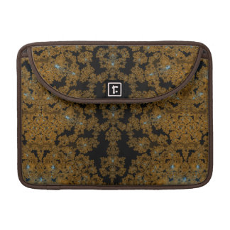 Gold Lace Fractal Expression Sleeve For MacBooks