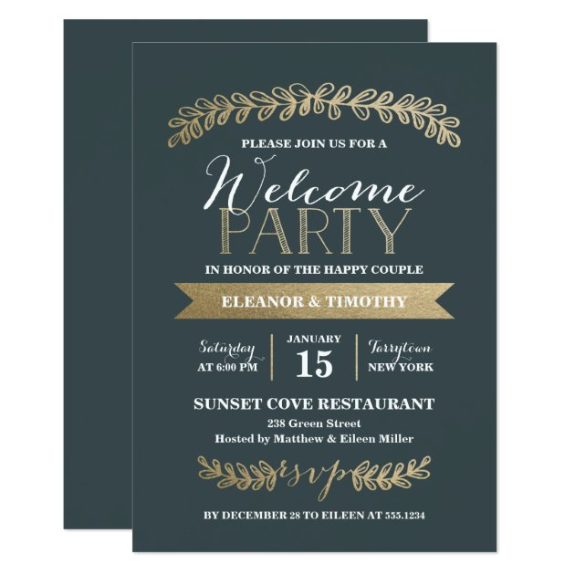 Wedding Cocktail Party Invitation Wording alesiinfo